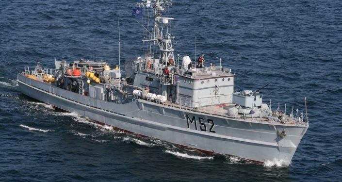 Niszczyciel min M52 Sūduvis litewskiej marynarki wojennej