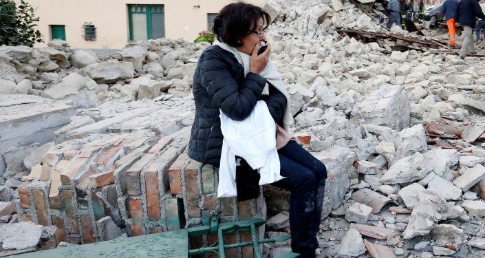 We Włoszech doszło do trzęsienia ziemi. Pierwszy wstrząs podziemny o sile 6,0 stopni sejsmolodzy odnotowali o 03.36.