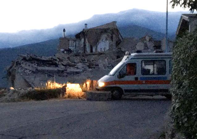 Drogi wiodące do Amatrice oraz wyjazdowe zostały zablokowane.