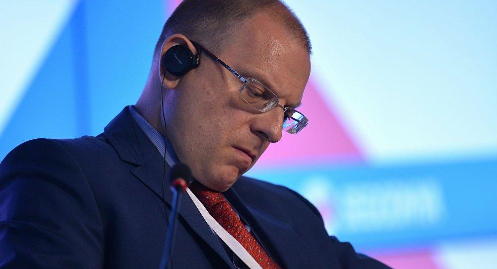 Pełnomocnik rosyjskiego MSZ ds. praw człowieka, demokracji i nadrzędności prawa Konstantin Dołgow