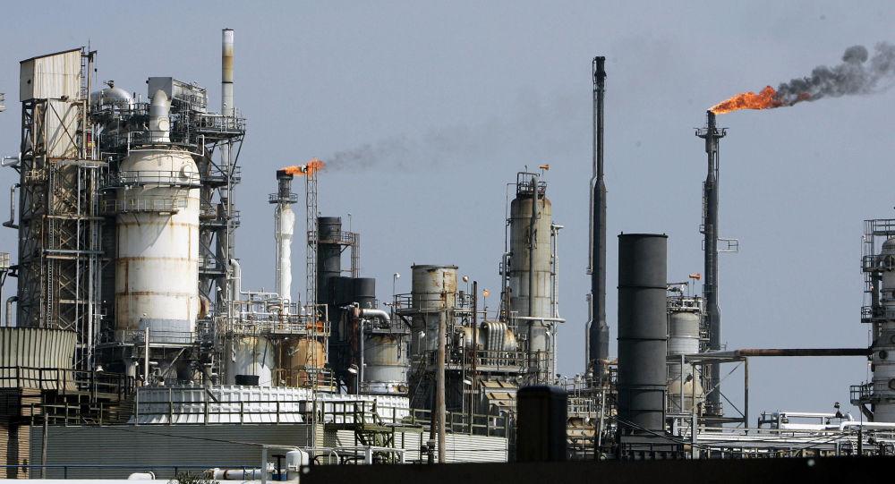 Rafineria w Teksasie