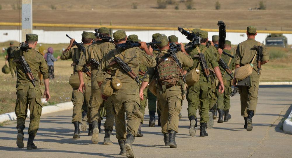 Taktyczne szkolenia Brygada Strzelców Ministerstwa Obrony Rosji w Dagestanie