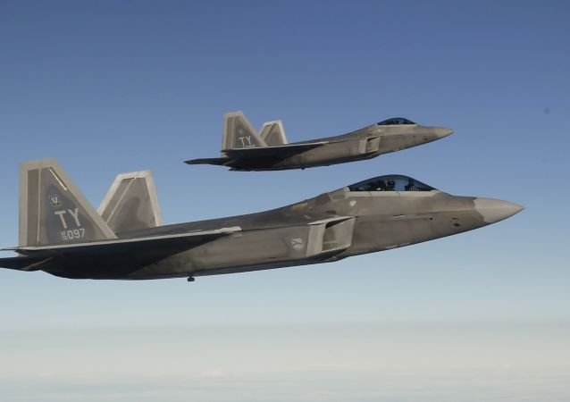 Amerykańskie myśliwce F-22