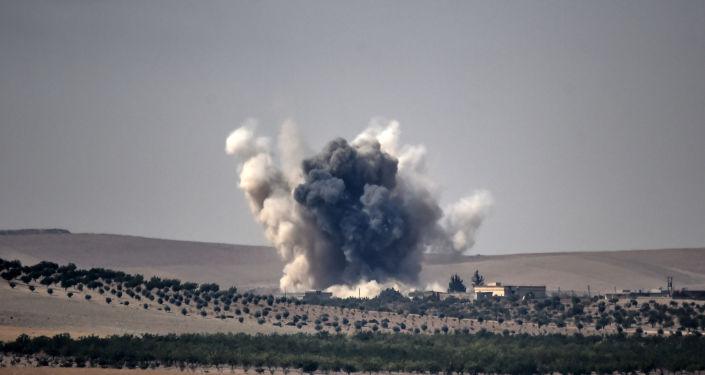 Naloty tureckich sił powietrznych w Syrii