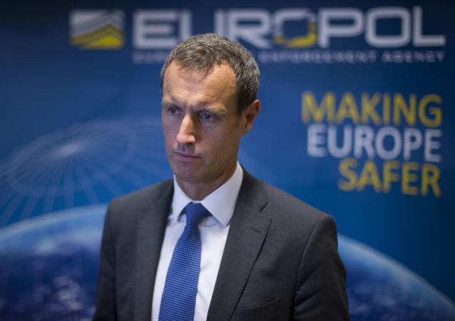 Dyrektor Europolu Rob Wainwright