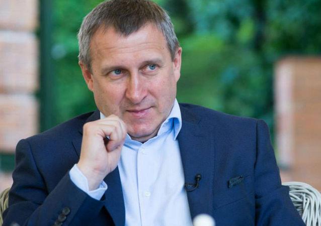 Ambasador Ukrainy w Polsce Andrij Deszczyca