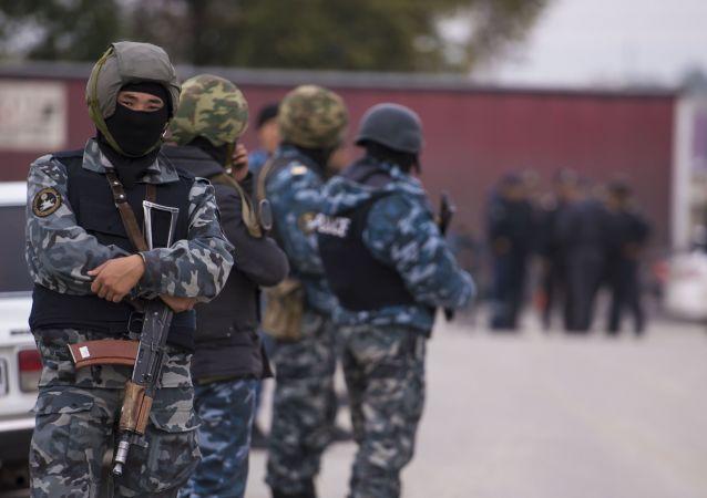 Wybuch pod budynkiem ambasady Chin w Kirgistanie.