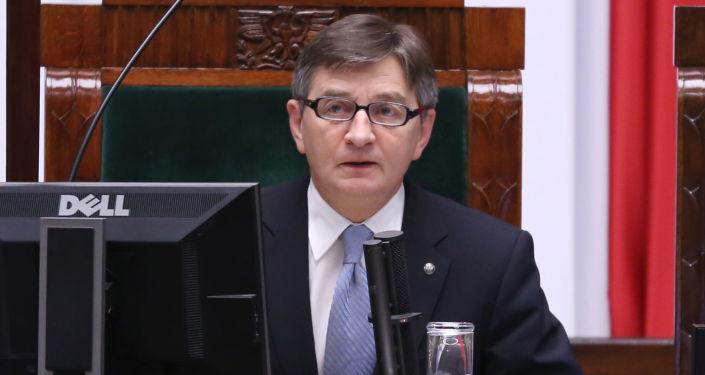 Marszałek polskiego Sejmu Marek Kuchciński