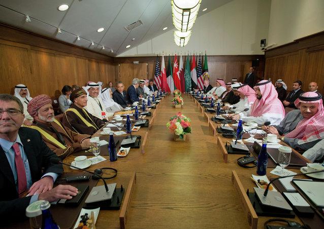 Spotkanie prezydenta USA Baracka Obamy z liderami  krajów Rady Współpracy Zatoki Perskiej w Camp David