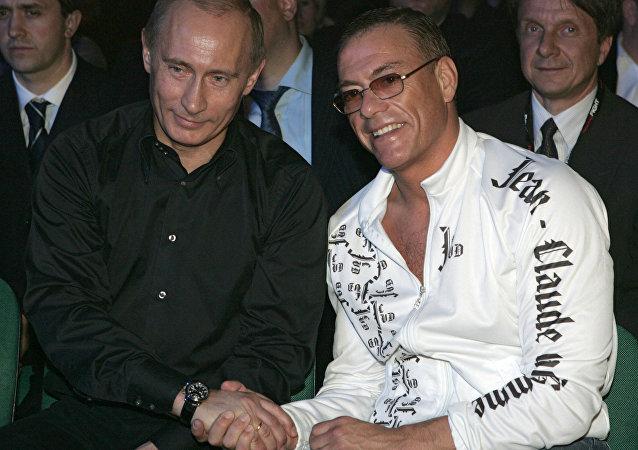 Władimir Putin i Jean-Claude Van Damme