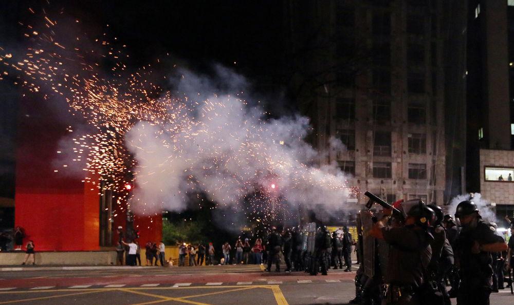Sytuacja w Brazylii, gdzie zwolennicy prezydent Dilmy Rousseff wyszli na demonstracje