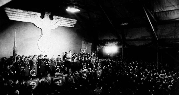 Pierwsza mowa Hitlera, Karlsruhe, Baden, marzec 1936