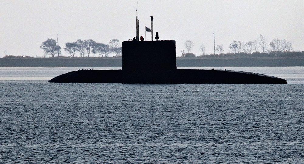 Rosyjski okręt podwodny klasy Warszawianka