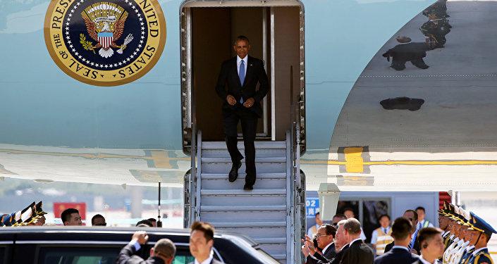 WIDEO. Brak schodów i czerwonego dywanu. Chińczycy wysyłają jasny sygnał Obamie