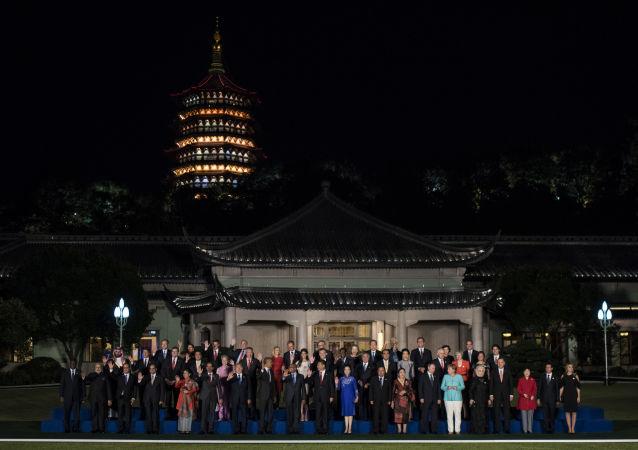 Szefowie delegacji państw członkowskich G20 w Hangzhou