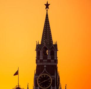 Baszta Spasska na Kremlu