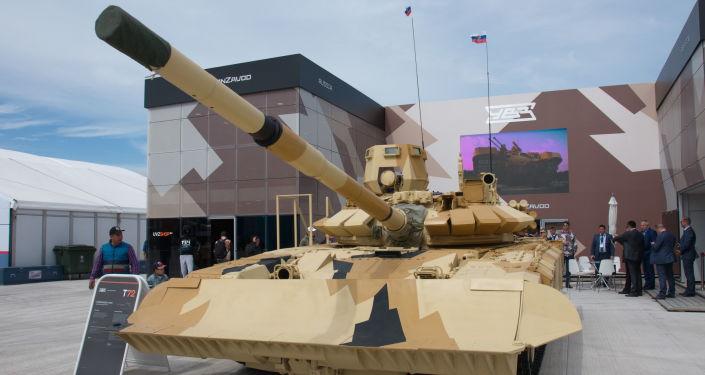 Zmodernizowany czołg T-72