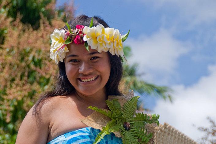 Mieszkanka Polinezji