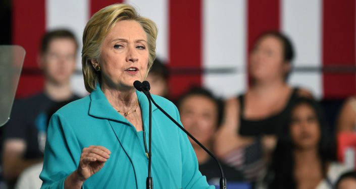 Kandydat na stanowisko prezydenta USA Hillary Clinton