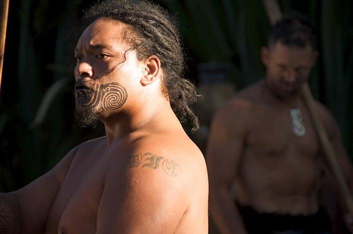 Maorys z Nowej Zelandii