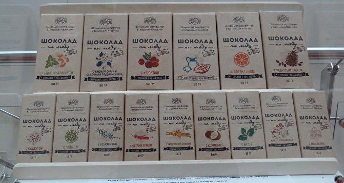 Bogaty wachlarz smaków rosyjskiej czekolady