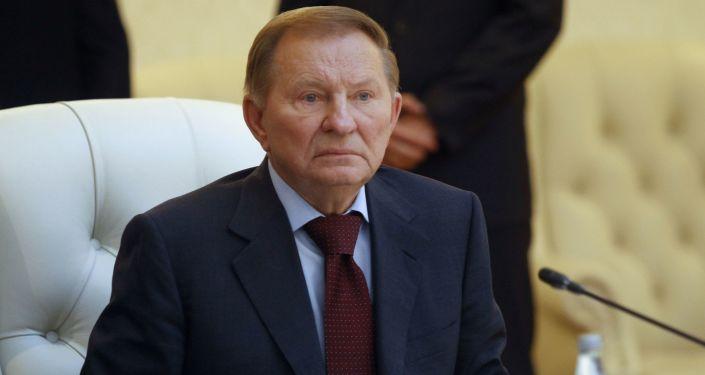 Przedstawiciel Kijowa na rozmowach w Mińsku Leonid Kuczma