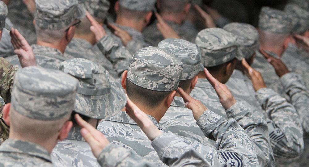 Żołnierze USA.