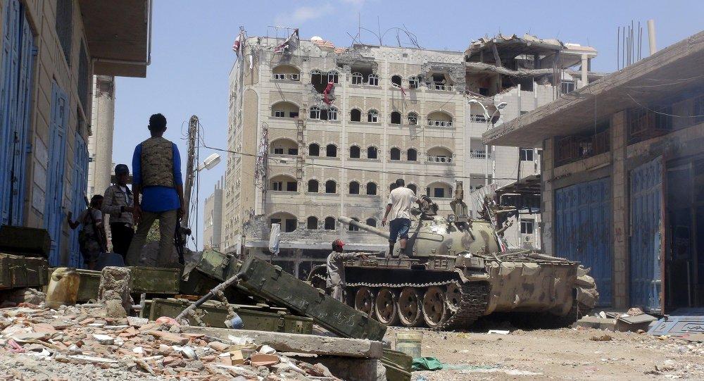 Jemen, Aden, maj 16, 2015