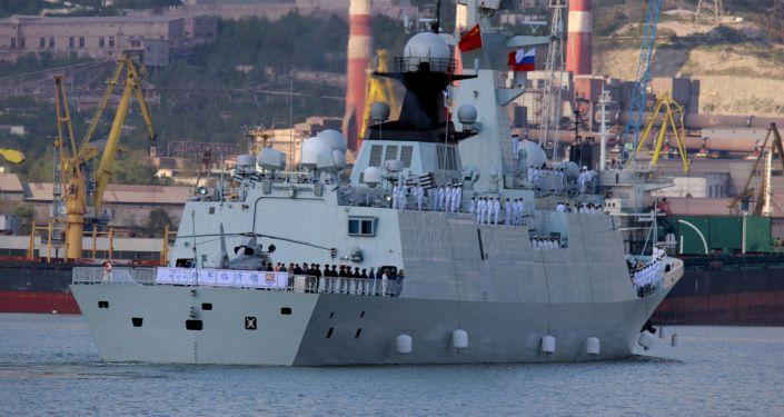 Okręty wojenne Rosji i Chin na Morzu Śródziemnym