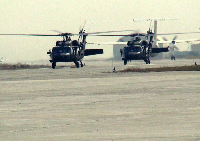 Śmigłowce ISAF w Afghanistanie