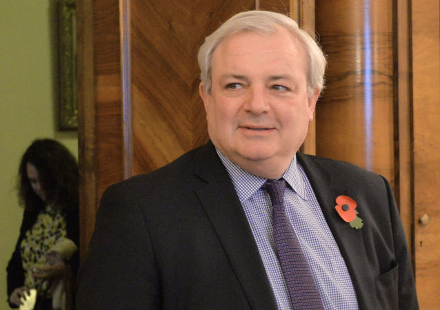 Zastępca sekretarza generalnego ONZ ds. humanitarnych Stephen O'Brien