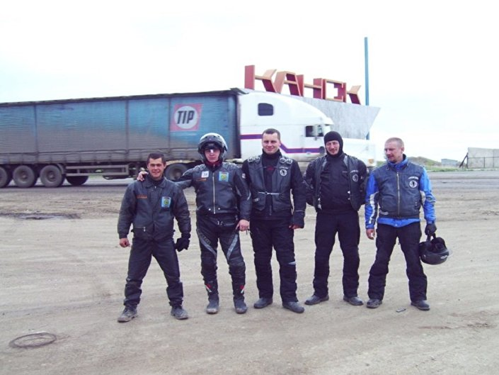 Kilkakrotnie przejechałem Rosję w samotności, ale też z rosyjskimi przyjaciółmi.