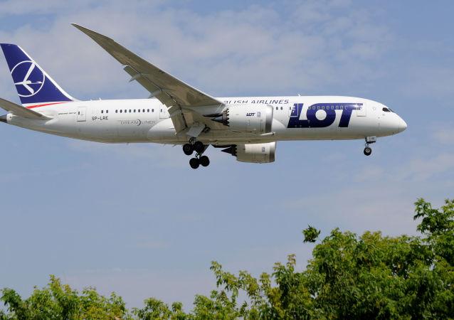 Samolot Boeing 787 PLL LOT