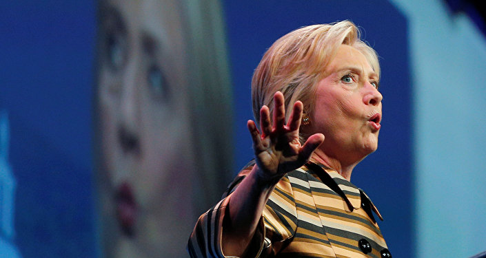 Kandydatka Demokratów na prezydenta Stanów Zjednoczonych Hillary Clinton,