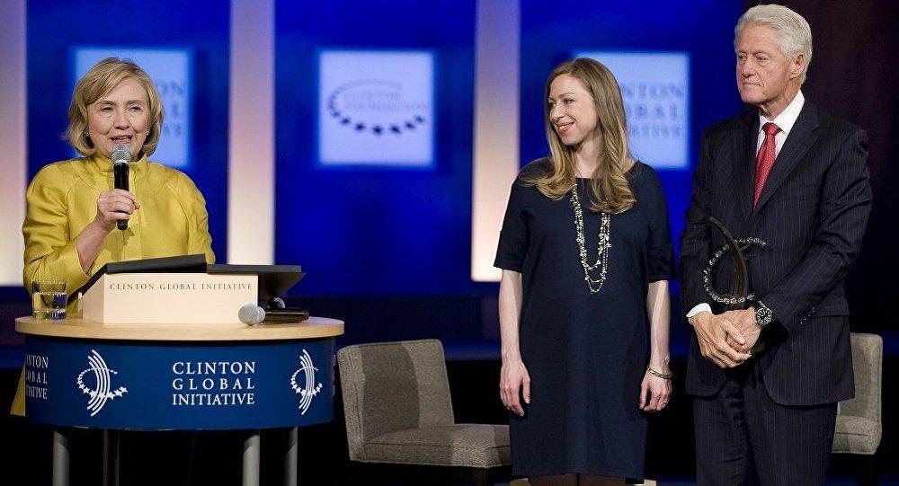Hillary Clinton, Bill Clinton i Chelsea Clinton