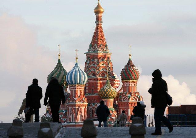 Plac Czerwony w Moskwie, Rosja