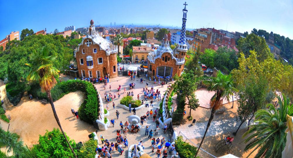 Hiszpania. Park Guell