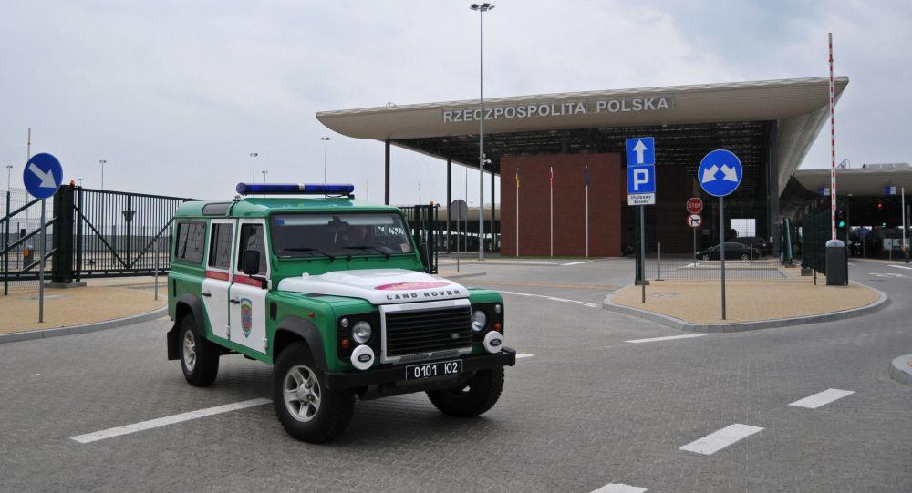 Międzynarodowe przejście graniczne na polskiej granicy