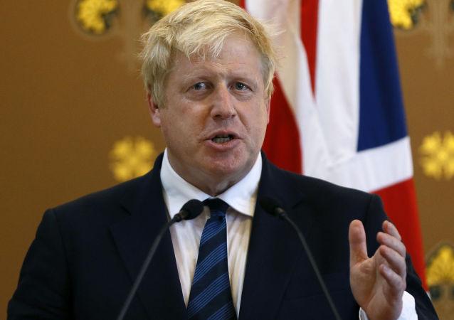 brytyjski minister spraw zagranicznych Boris Johnson