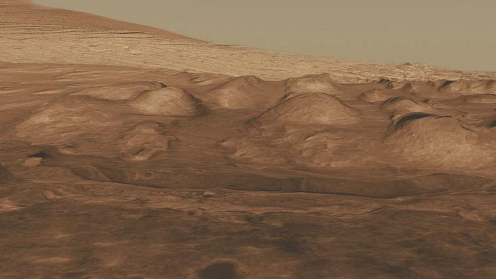 Krater Gale na Marsie