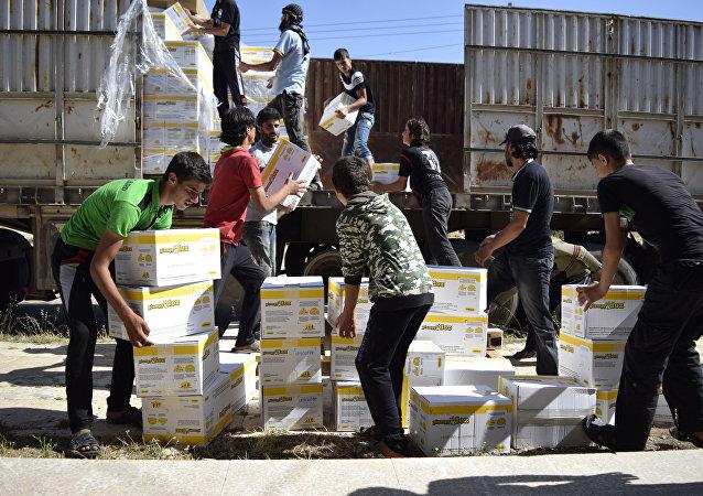Pomoc humanitarna w Syrii