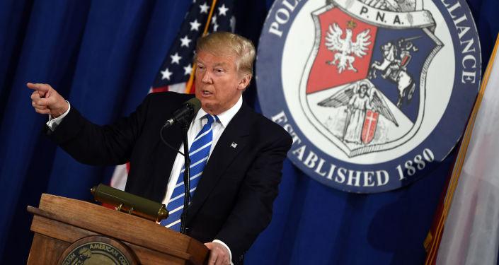 Kandydat Republikanów w wyborach prezydenckich USA Donald Trump