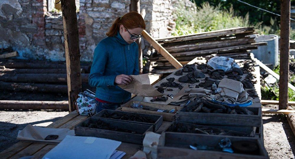 Znalezisko archeologiczne w Pskowie