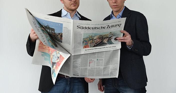 Media w Niemczech ślepo wierzą amerykańskiej propagandzie