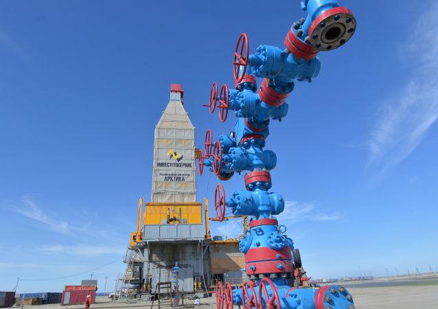 Wyspecjalizowana platforma wiertnicza Arktyka przeznaczona do eksploatacji złoża Południowo-Tambejskiego (Półwysep Jamalski)
