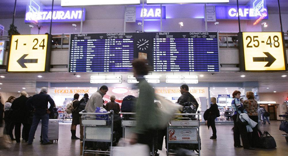 Lotnisko Szeremietiewo, Moskwa