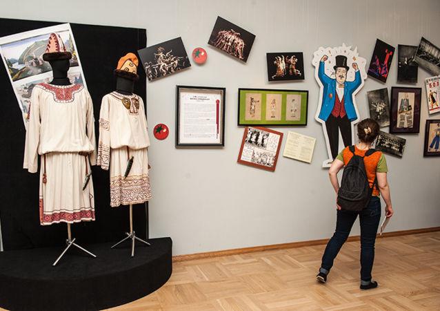 """Wystawa """"Całkowita porażka w Muzeum Teatru i Muzyki w Petersburgu"""