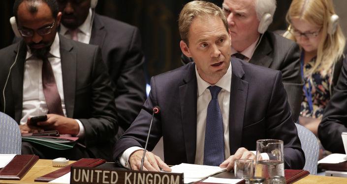 Wiceminister spraw zagranicznych Wielkiej Brytanii Tobias Ellwood