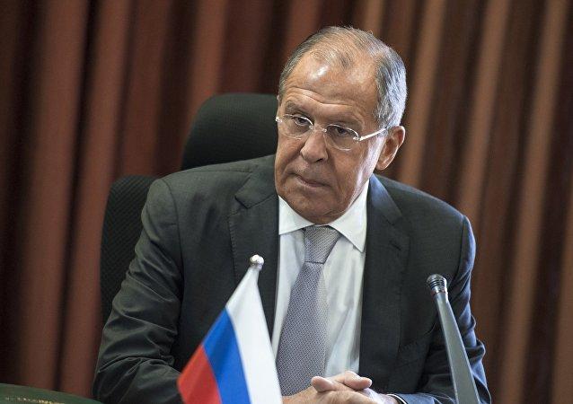 Minister spraw zagranicznych Siergiej Ławrow