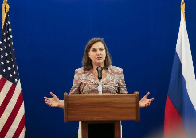 Asystentka sekretarza stanu USA ds. europejskich i euroazjatyckich Victoria Nuland